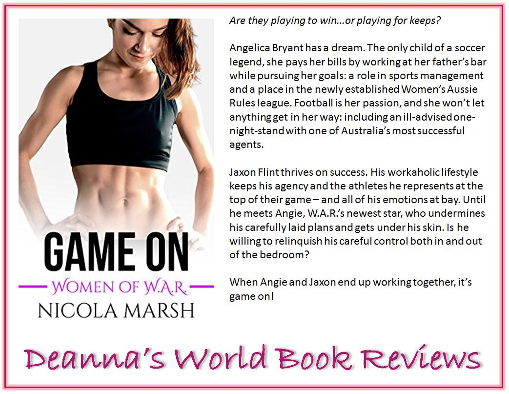 Game On by Nicola Marsh blurb
