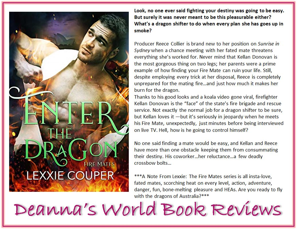 Enter The Dragon by Lexxie Couper blurb