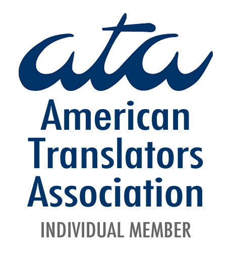 Rodrigo Cayres, member of ATA (American Translators Association)