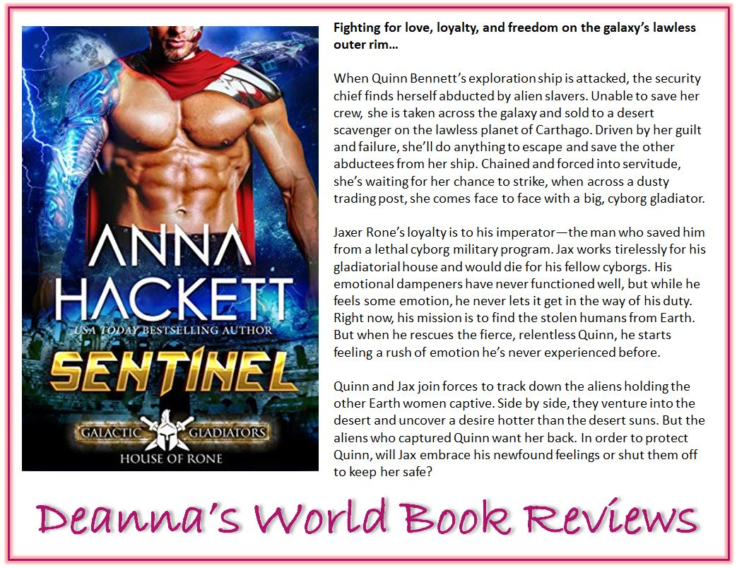 Sentinel by Anna Hackett blurb