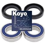 Japanese Front and/or Rear Wheel Bearings Seals Kit - 25-1273BP - Boss Bearing