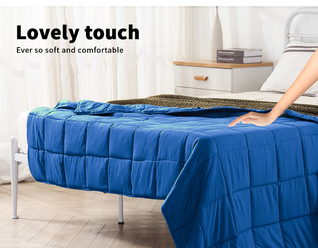 thumbnail 42 - DreamZ Weighted Blanket Heavy Gravity Deep Relax 5/7/9KG Adult Kid Double Queen