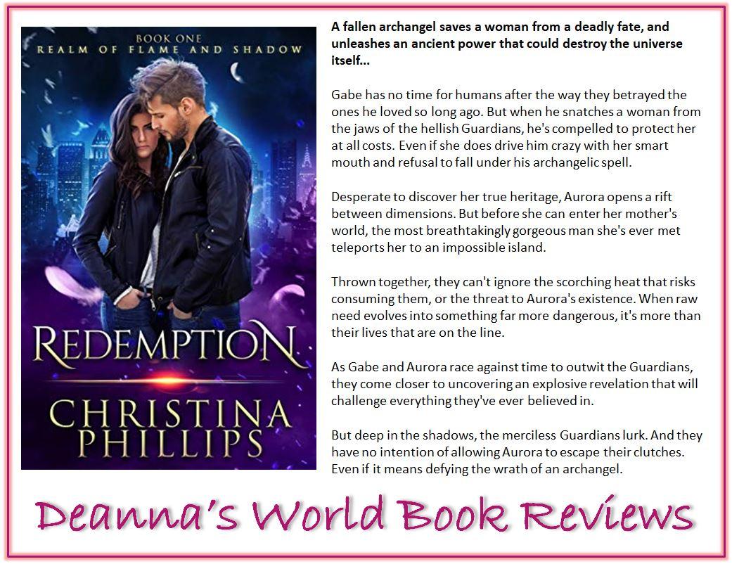 Redemption by Christina Phillips blurb