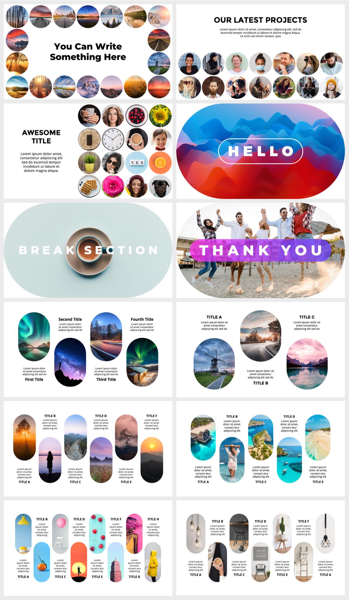 Huge Infographics Bundle! Lifetime Updates! PowerPoint, Photoshop, Illustrator. - 153