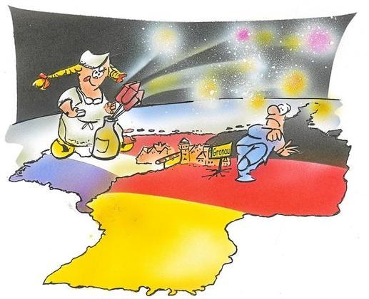 Krieg der Pyromanen Karikatur Krieg der Pyromanen Karikatur