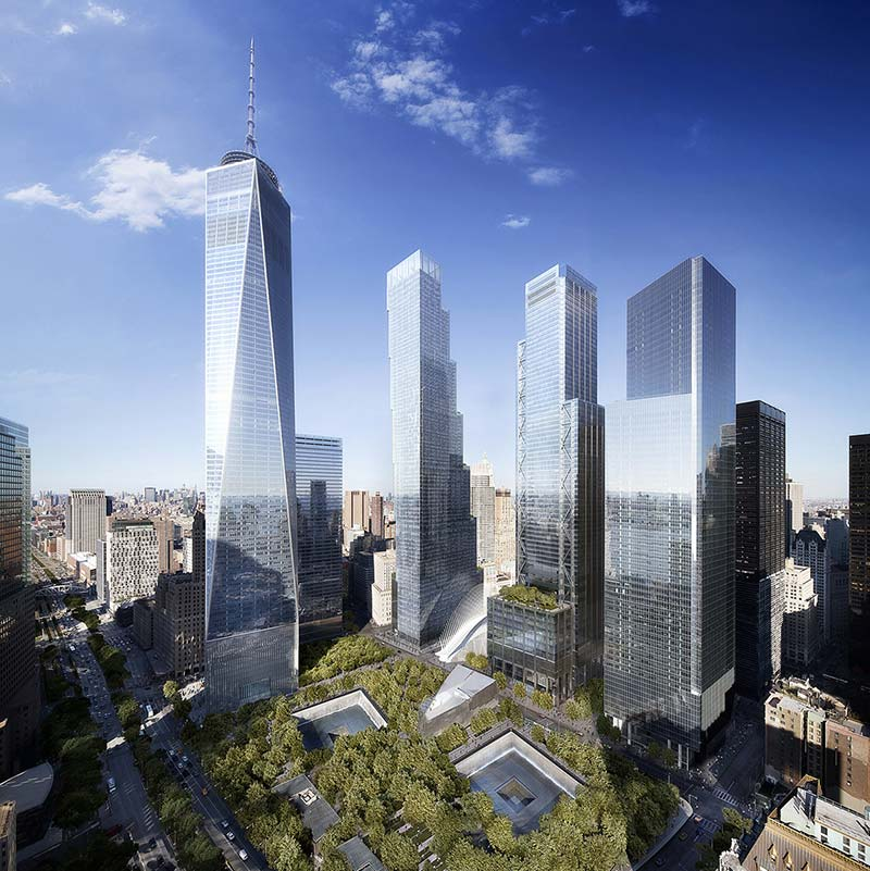 Rex to design the performing arts center at the world trade center