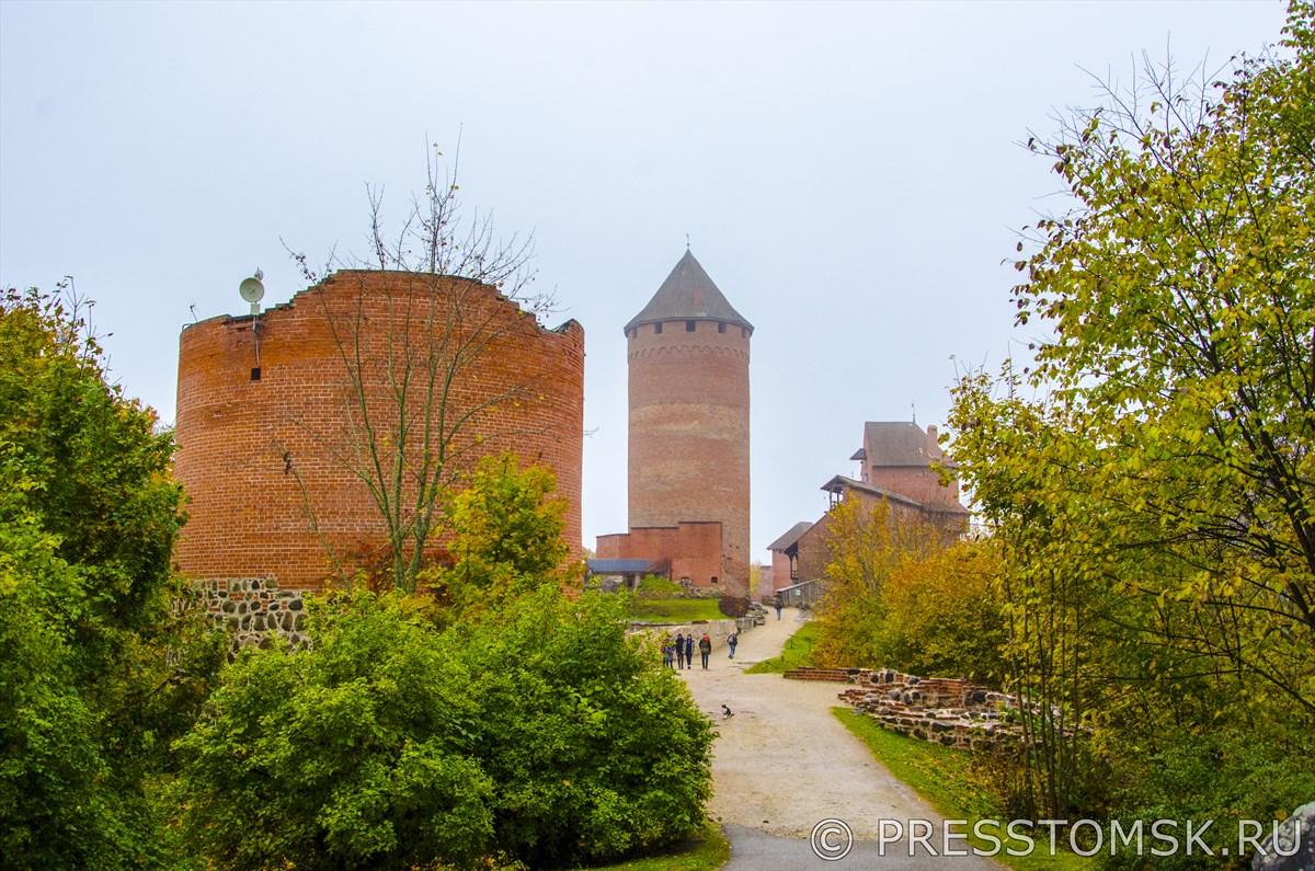 Вид на Турайдский замок