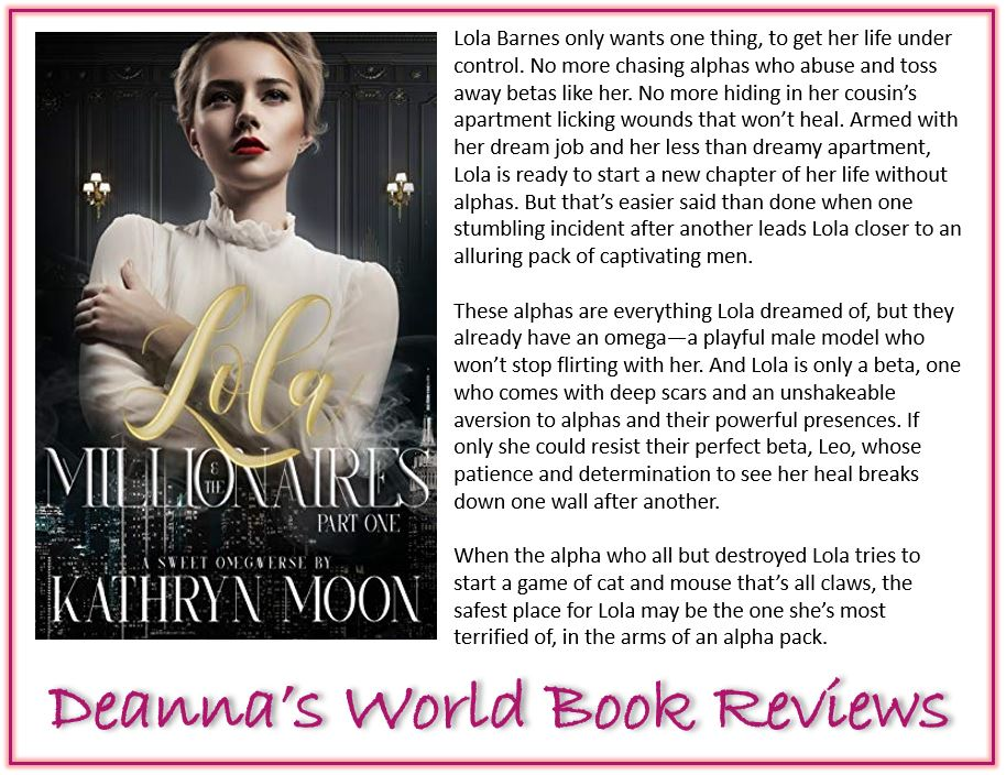 Lola and the Millionaires Part One by Kathryn Moon blurb
