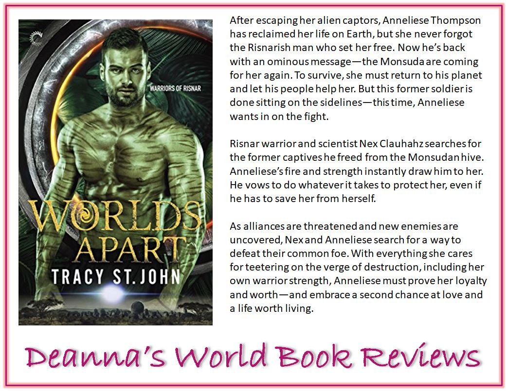 Worlds Apart by Tracy St John blurb