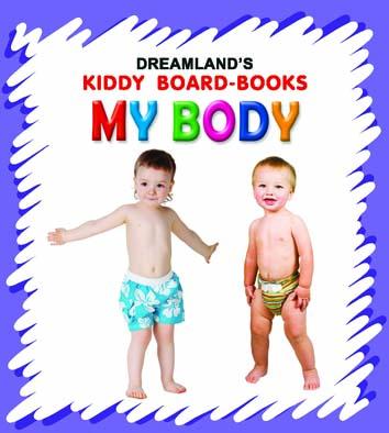 Kiddy Board Book - My Body