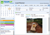 Goods delivery and Load planner