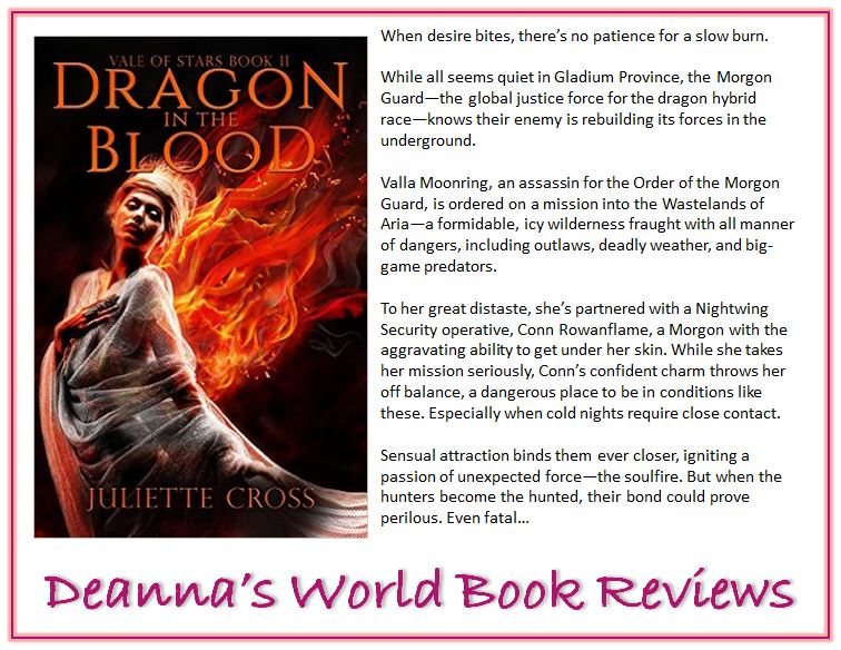 Dragon In The Blood by Juliette Cross blurb