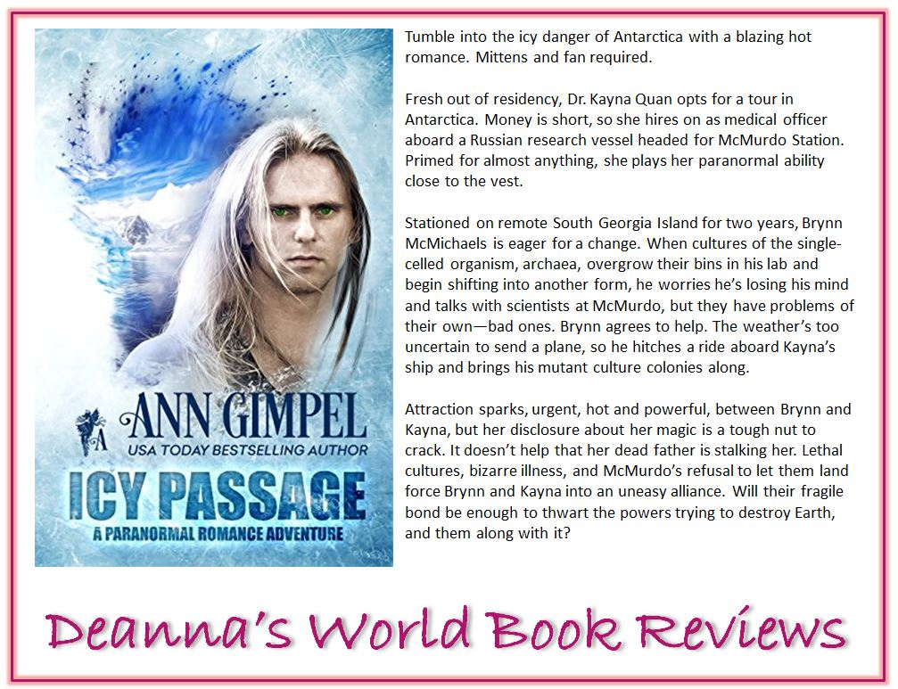 Icy Passage by Ann Gimpel blurb