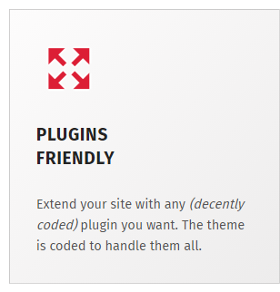 Plugins friendly