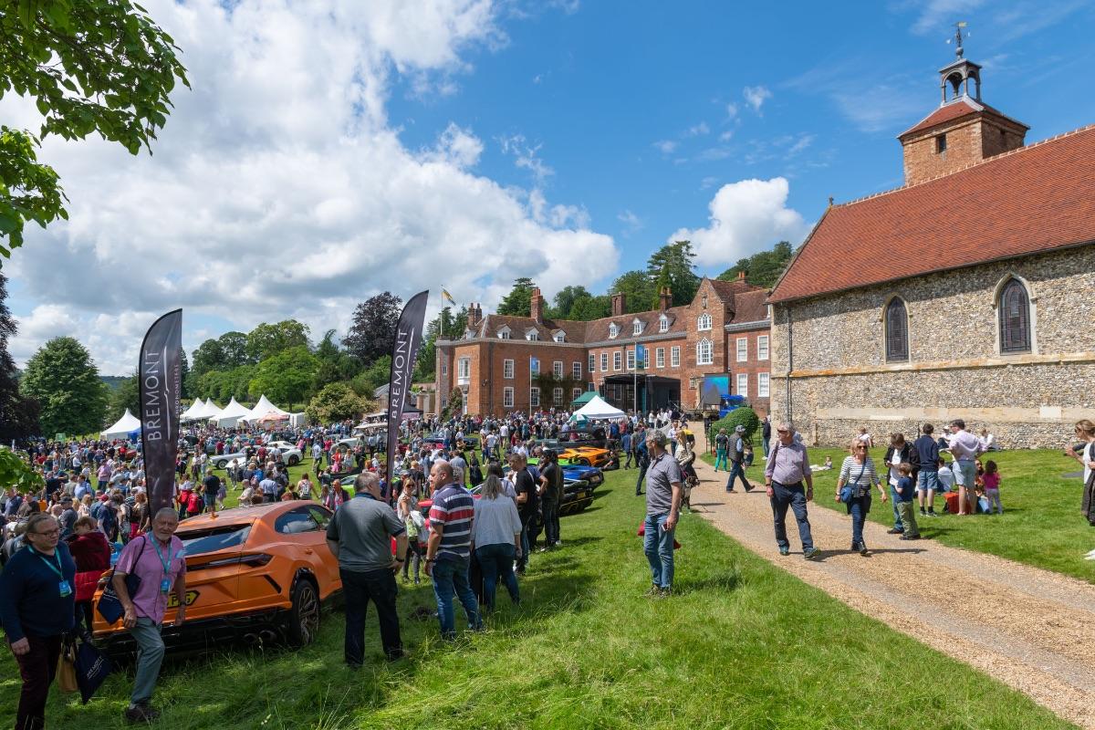 Stonor Supercar Sunday hailed a huge success