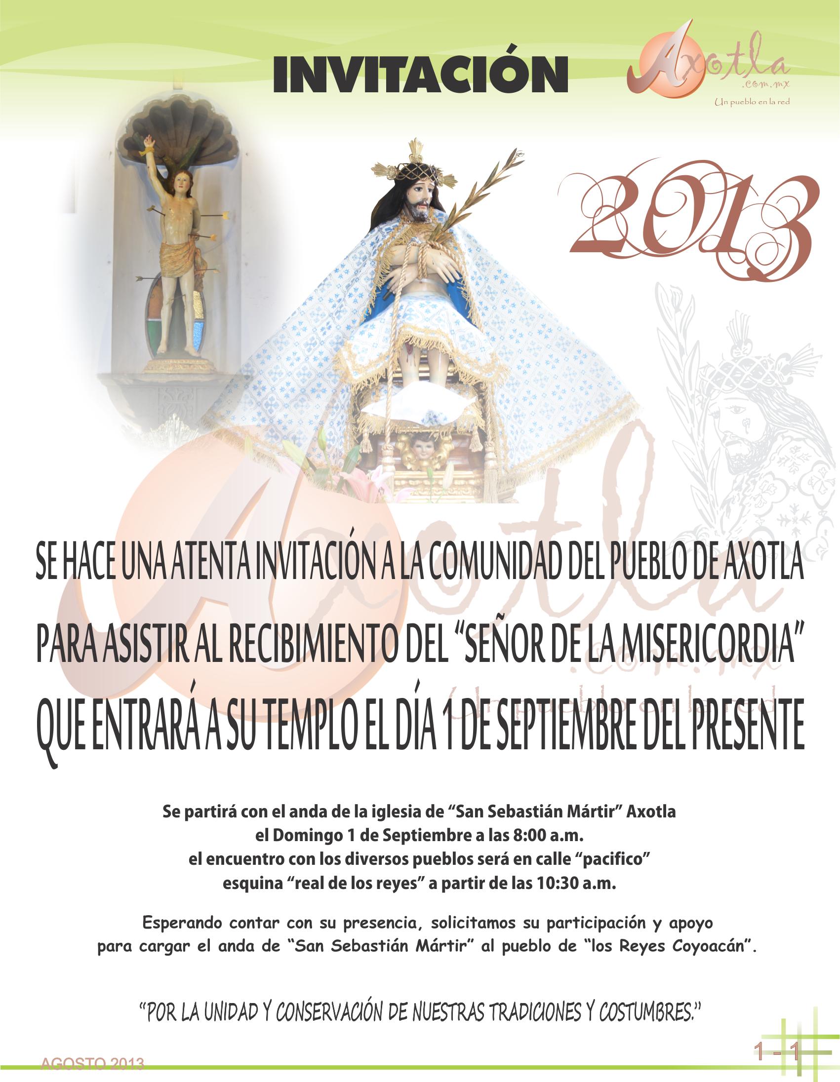 invitación 2013