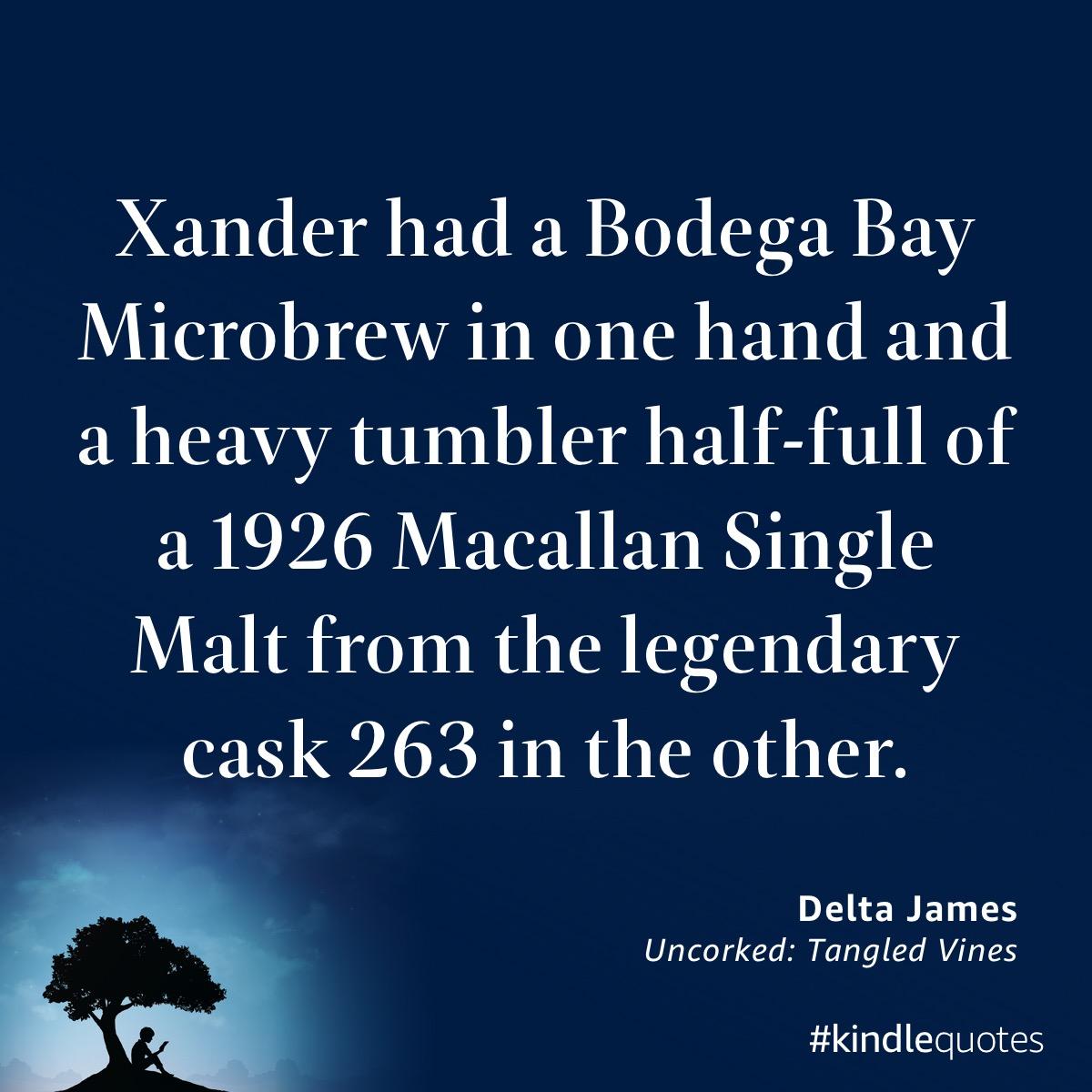 Book quote Delta James