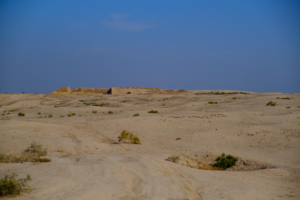 Tadaa! Het Aksikent fort...