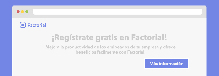 Registrate en Factorial