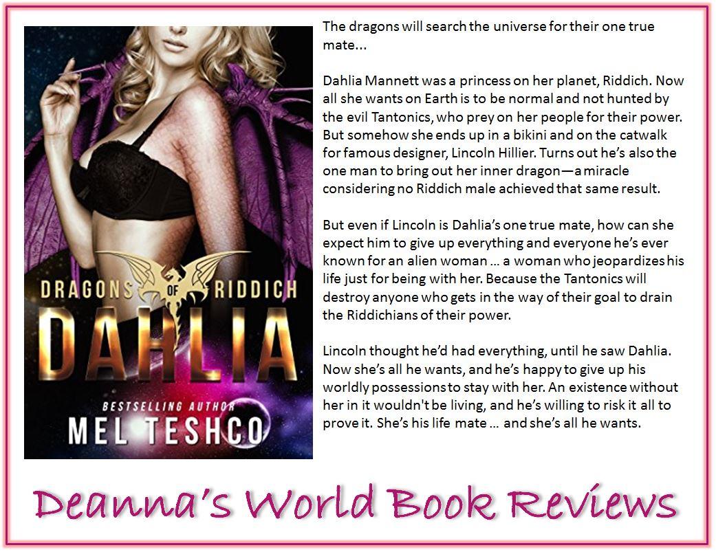 Dahlia by Mel Teshco blurb
