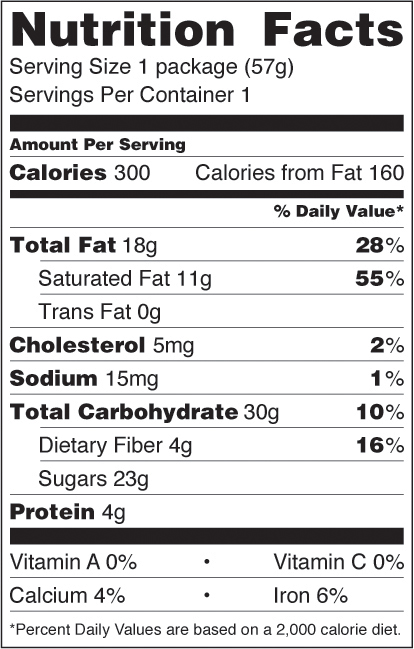 Mint Mocha Espresso nutrition facts