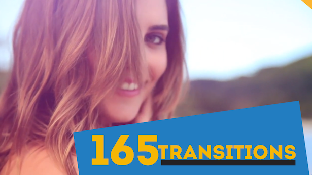 165 Transitions & 28 Titles Pack Motion Graphics | MOGRT - 14