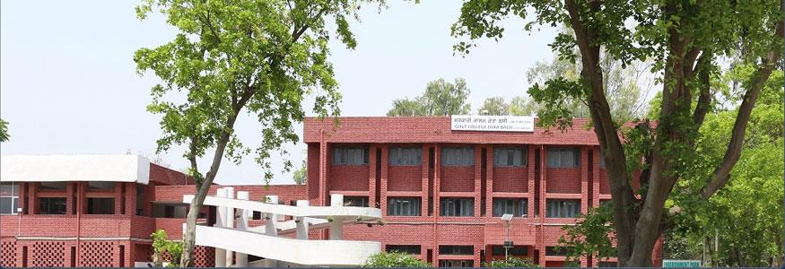 Government College, Dera Bassi