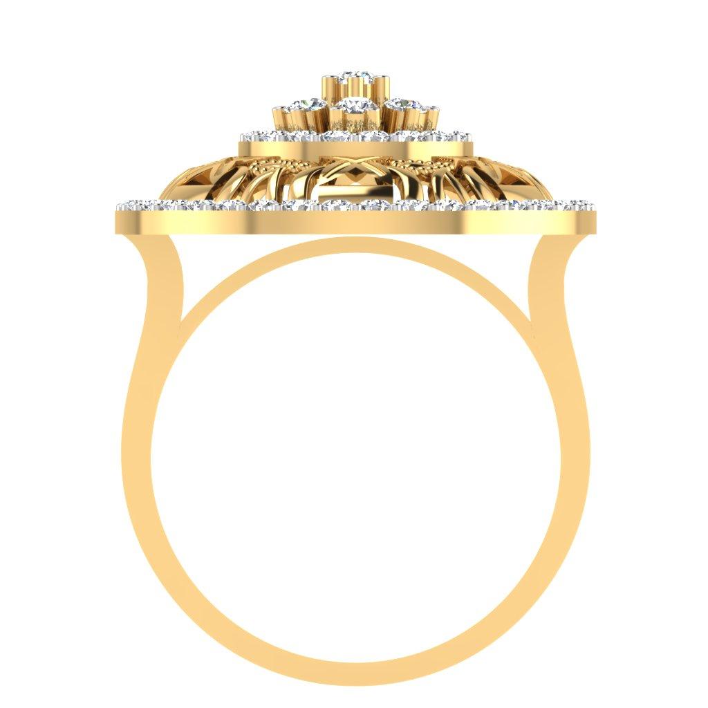The Alecia Diamond Ring