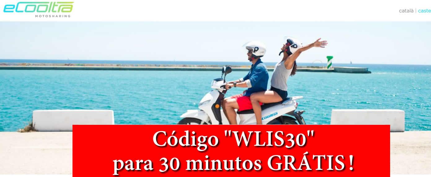 [Testar] eCooltra - Viajar Grátis de mota Electrica - Usa o nosso código!  Lisboa