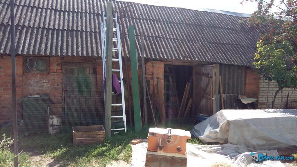 Новая лестница, рабочий станок для деревообработки в деревне!