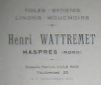 Tissage Henri Wattremet