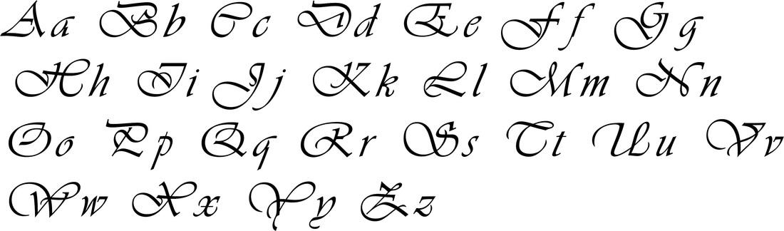 wedding 7 font
