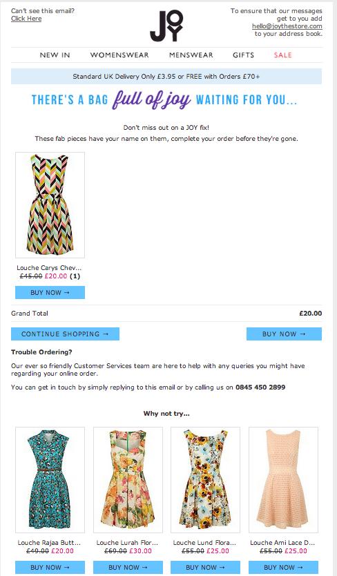 Online Shop Joy