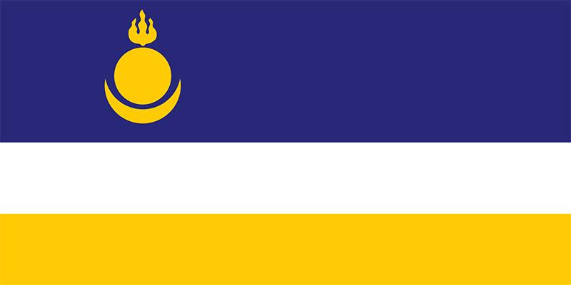 Bandera de Buriatia