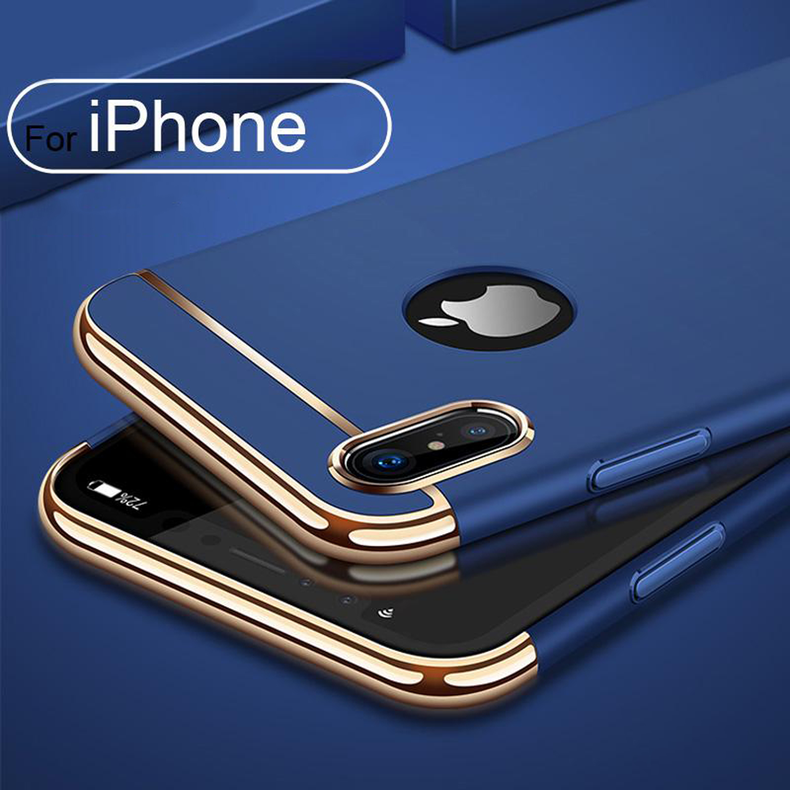 Luxury-Matte-Case-Tempered-Glass-Cover-For-Apple-iPhone-X-XS-XR-Max-10-8-7-6s-6 thumbnail 63