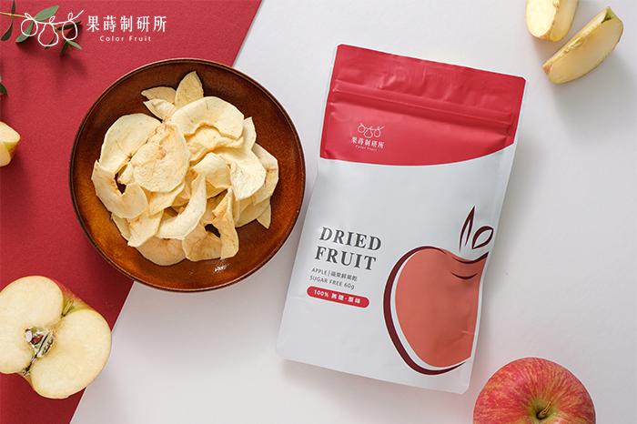 果蒔制研所100%無添加蘋果乾