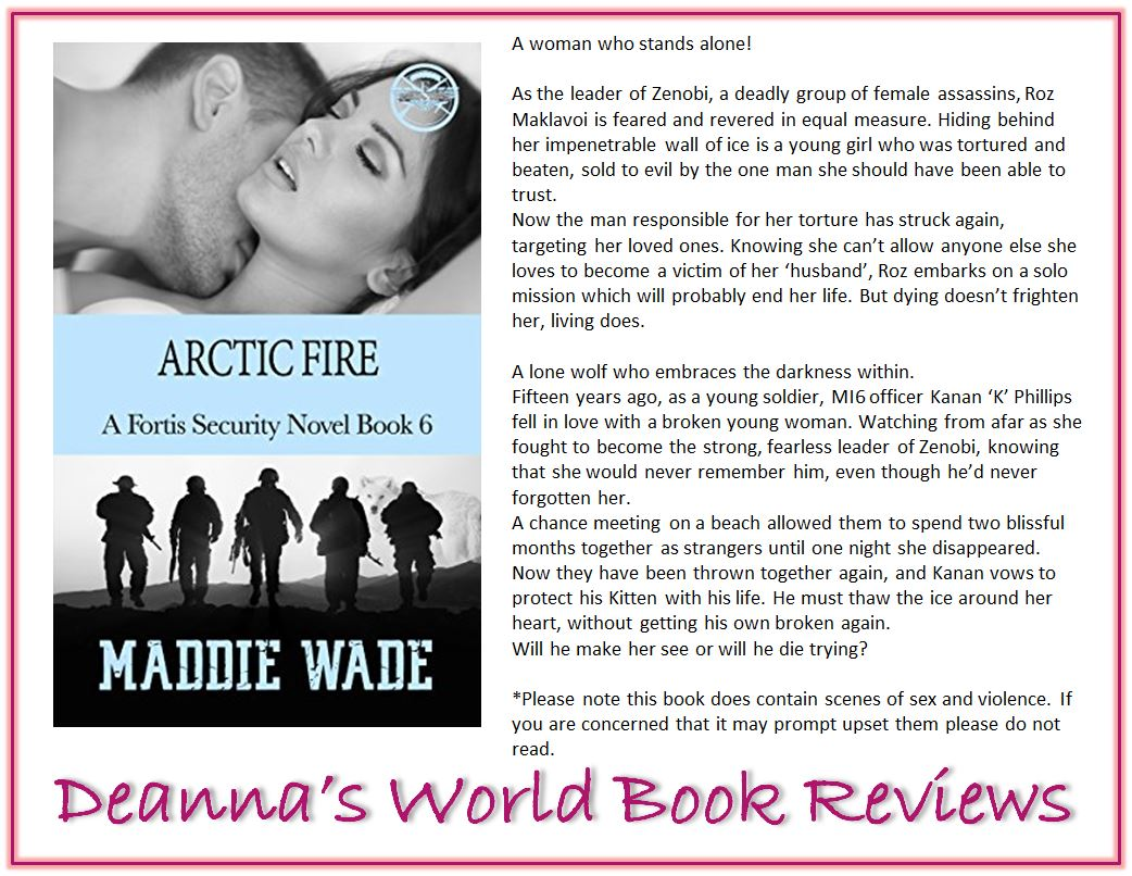 Arctic Fire by Maddie Wade blurb