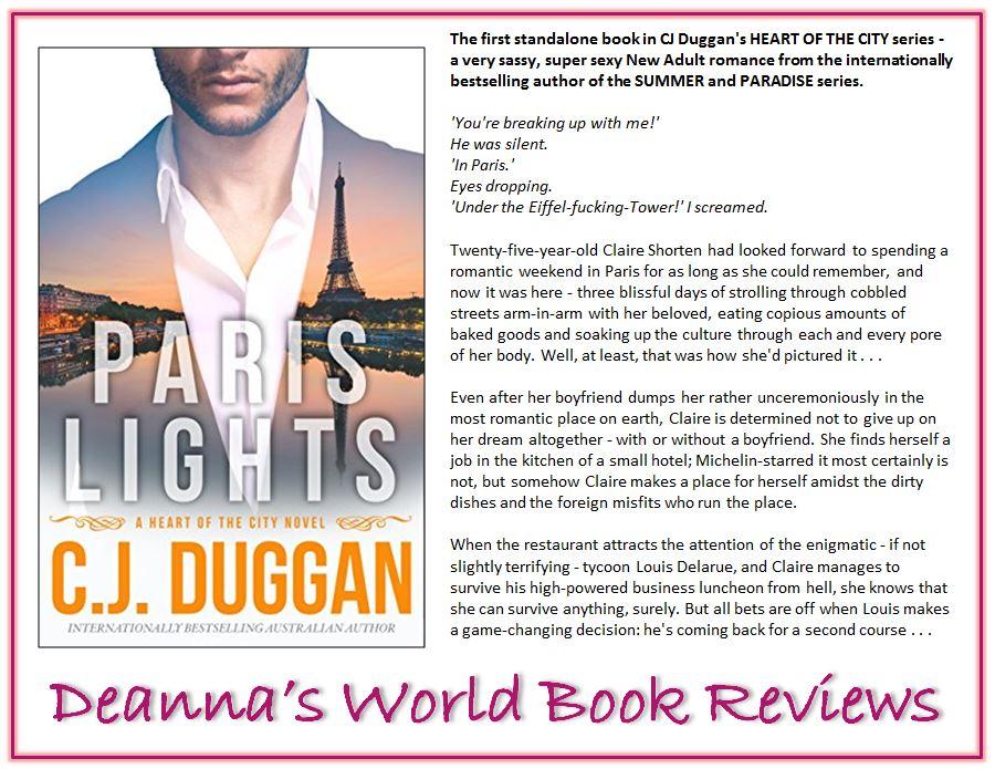 Paris Lights by C J Duggan blurb