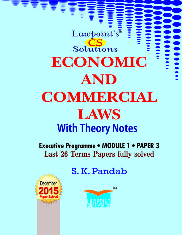Lawpoint's CS Solutions Economic and Commercial Laws