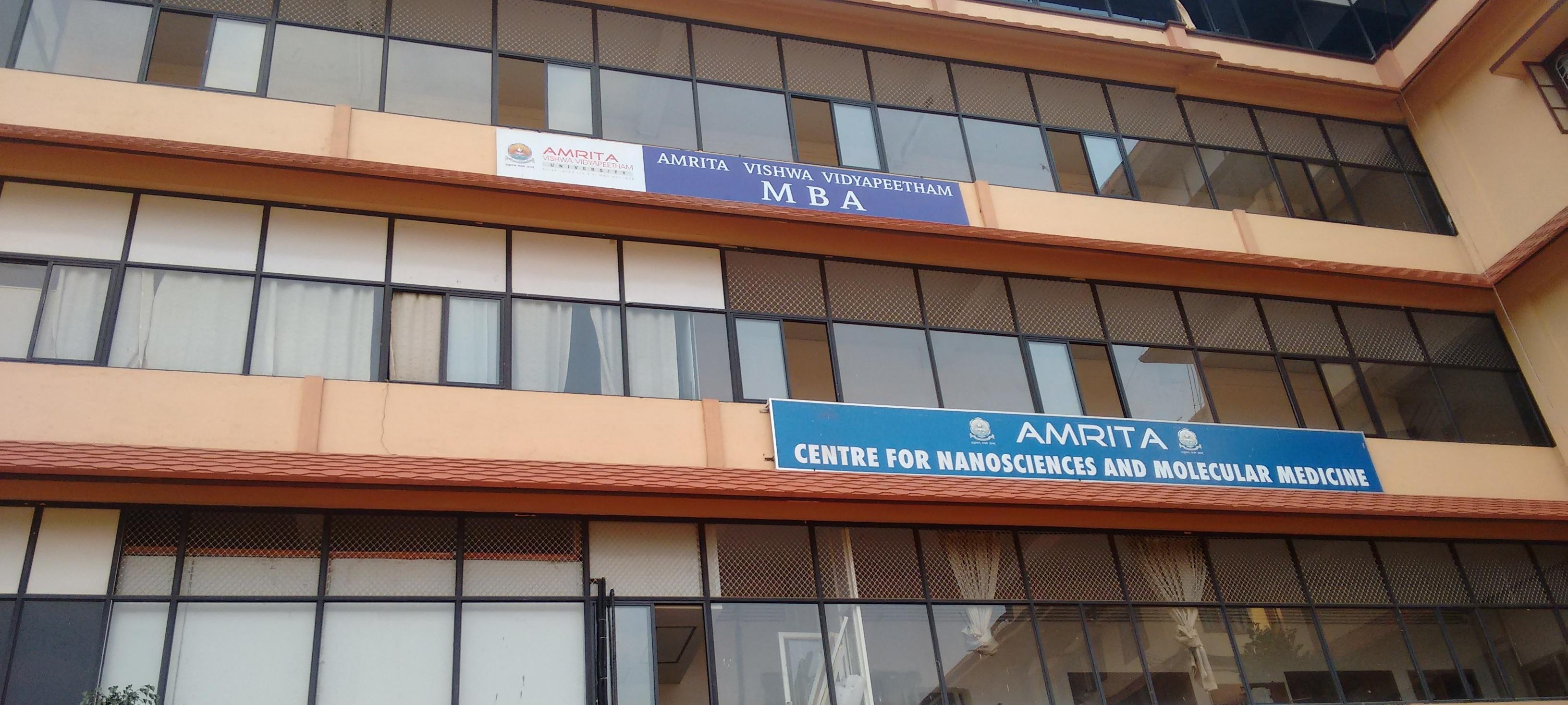 Amrita Center for Nanosciences and Molecular Medicine, Kochi