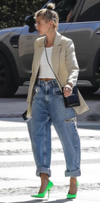 Объемные джинсы