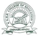 ABR College of Education, Prakasam