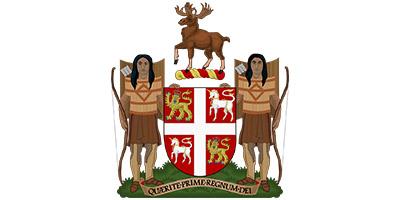 Escudo de Terranova y Labrador