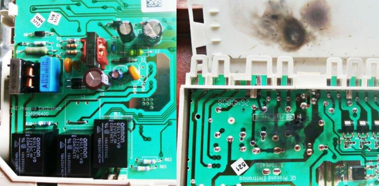 arızalı bulaşık makinesi kartı