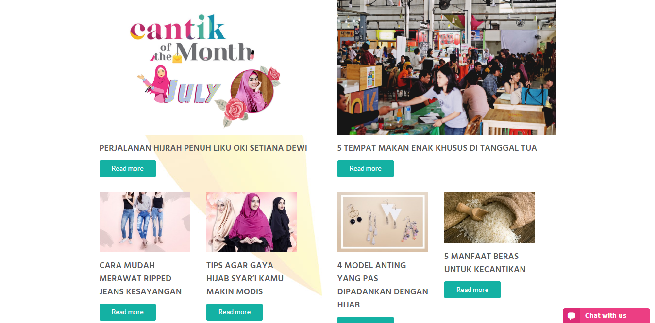Cantik of the month