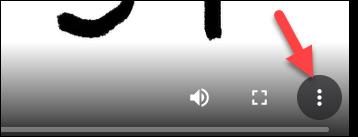 click 3 dots menu to download vimeo video