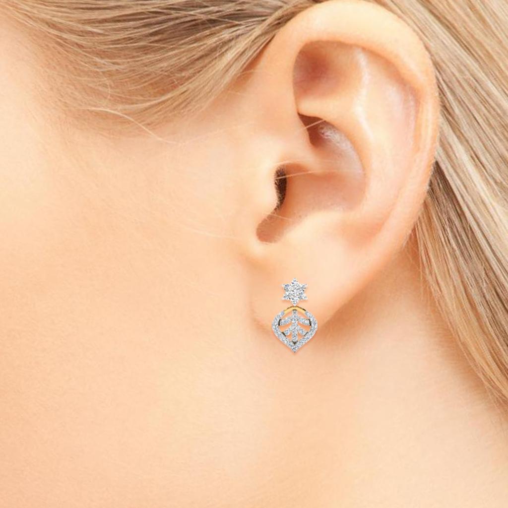 The Vokante Diamond Stud Earrings