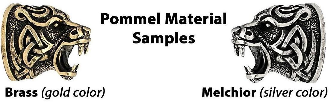 pommel-material