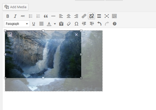 resize hình ảnh- WordPress 3.9 Beta 1