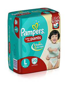 Pampers Baby Pants Active Size L